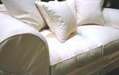 Fräscha upp den gamla soffan